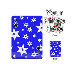 Star Background Pattern Advent Playing Cards 54 (mini)
