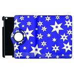 Star Background Pattern Advent Apple iPad 2 Flip 360 Case Front