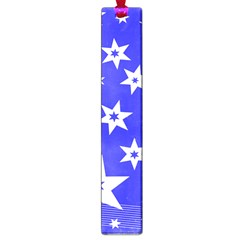 Star Background Pattern Advent Large Book Marks
