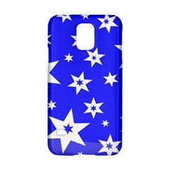Star Background Pattern Advent Samsung Galaxy S5 Hardshell Case