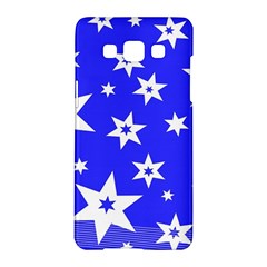 Star Background Pattern Advent Samsung Galaxy A5 Hardshell Case