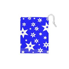 Star Background Pattern Advent Drawstring Pouches (xs)