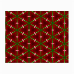 Textured Background Christmas Pattern Small Glasses Cloth