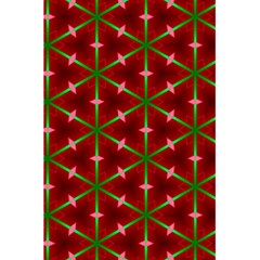 Textured Background Christmas Pattern 5 5  X 8 5  Notebooks