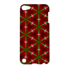 Textured Background Christmas Pattern Apple Ipod Touch 5 Hardshell Case