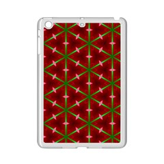 Textured Background Christmas Pattern Ipad Mini 2 Enamel Coated Cases