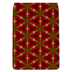 Textured Background Christmas Pattern Flap Covers (l)