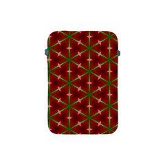 Textured Background Christmas Pattern Apple Ipad Mini Protective Soft Cases