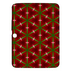 Textured Background Christmas Pattern Samsung Galaxy Tab 3 (10 1 ) P5200 Hardshell Case