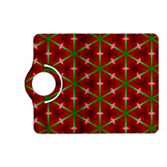 Textured Background Christmas Pattern Kindle Fire Hd (2013) Flip 360 Case