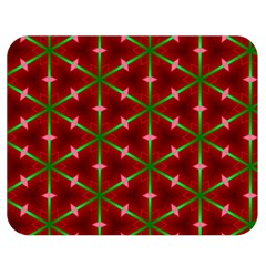 Textured Background Christmas Pattern Double Sided Flano Blanket (medium)