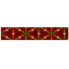 Textured Background Christmas Pattern Large Flano Scarf