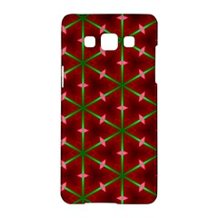 Textured Background Christmas Pattern Samsung Galaxy A5 Hardshell Case
