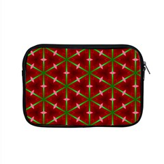 Textured Background Christmas Pattern Apple Macbook Pro 15  Zipper Case
