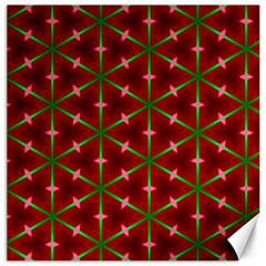 Textured Background Christmas Pattern Canvas 12  X 12