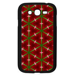 Textured Background Christmas Pattern Samsung Galaxy Grand Duos I9082 Case (black)