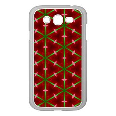 Textured Background Christmas Pattern Samsung Galaxy Grand Duos I9082 Case (white)