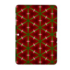 Textured Background Christmas Pattern Samsung Galaxy Tab 2 (10 1 ) P5100 Hardshell Case
