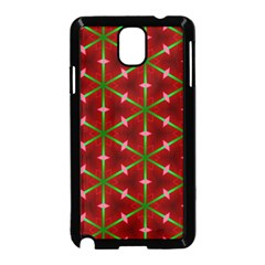 Textured Background Christmas Pattern Samsung Galaxy Note 3 Neo Hardshell Case (black)
