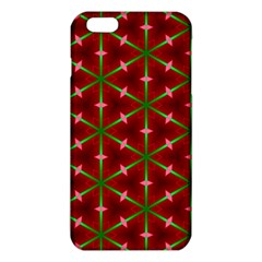 Textured Background Christmas Pattern Iphone 6 Plus/6s Plus Tpu Case