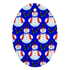 Seamless Repeat Repeating Pattern Ornament (oval)