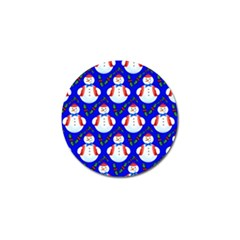 Seamless Repeat Repeating Pattern Golf Ball Marker (10 Pack)