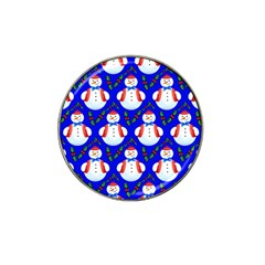 Seamless Repeat Repeating Pattern Hat Clip Ball Marker (4 Pack)