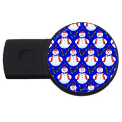 Seamless Repeat Repeating Pattern Usb Flash Drive Round (4 Gb)