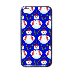 Seamless Repeat Repeating Pattern Apple Iphone 4 Case (black)