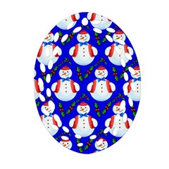 Seamless Repeat Repeating Pattern Oval Filigree Ornament (two Sides)