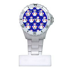 Seamless Repeat Repeating Pattern Plastic Nurses Watch