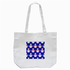 Seamless Repeat Repeating Pattern Tote Bag (white)