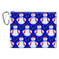 Seamless Repeat Repeating Pattern Canvas Cosmetic Bag (xxl)