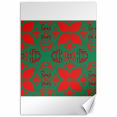 Christmas Background Canvas 24  X 36