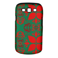 Christmas Background Samsung Galaxy S Iii Classic Hardshell Case (pc+silicone)