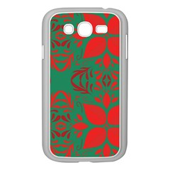 Christmas Background Samsung Galaxy Grand Duos I9082 Case (white)