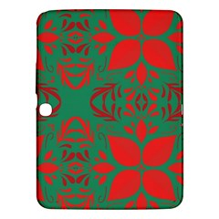 Christmas Background Samsung Galaxy Tab 3 (10 1 ) P5200 Hardshell Case