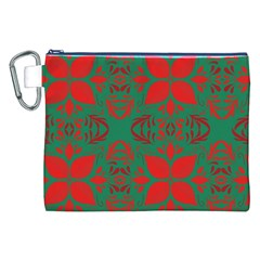 Christmas Background Canvas Cosmetic Bag (xxl)