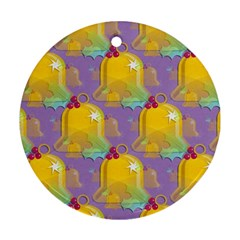 Seamless Repeat Repeating Pattern Ornament (round)