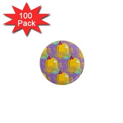 Seamless Repeat Repeating Pattern 1  Mini Magnets (100 Pack)