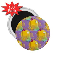Seamless Repeat Repeating Pattern 2 25  Magnets (100 Pack)