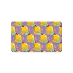 Seamless Repeat Repeating Pattern Magnet (name Card)
