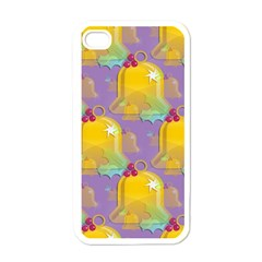 Seamless Repeat Repeating Pattern Apple Iphone 4 Case (white)