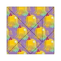 Seamless Repeat Repeating Pattern Acrylic Tangram Puzzle (6  X 6 )