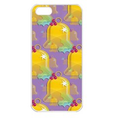 Seamless Repeat Repeating Pattern Apple Iphone 5 Seamless Case (white)