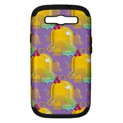 Seamless Repeat Repeating Pattern Samsung Galaxy S Iii Hardshell Case (pc+silicone)