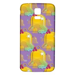 Seamless Repeat Repeating Pattern Samsung Galaxy S5 Back Case (white)