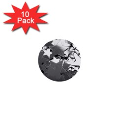 Background Celebration Christmas 1  Mini Buttons (10 Pack)