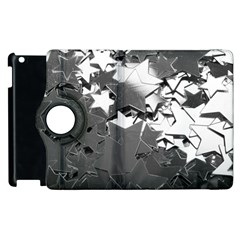 Background Celebration Christmas Apple Ipad 3/4 Flip 360 Case