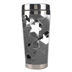 Background Celebration Christmas Stainless Steel Travel Tumblers